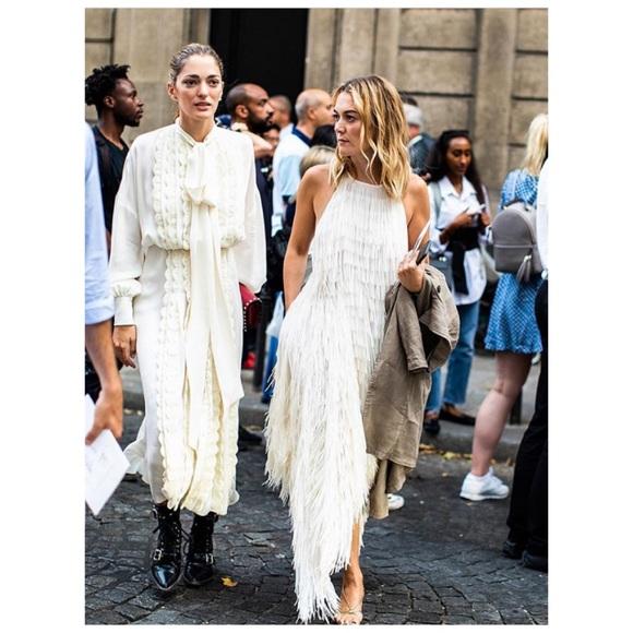 bbe9e0fe0bcae Zara Dresses   Nwt Halter Dress With Fringing   Poshmark